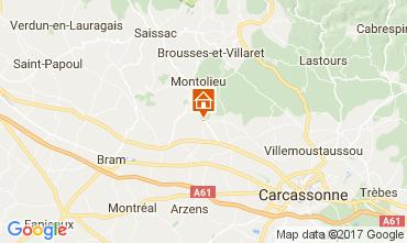 Mapa Carcassonne Casa rural 111060