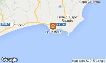 Mapa Le Castella Apartamento 24518