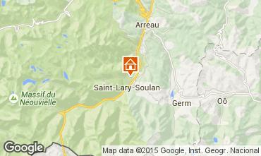 Mapa Saint Lary Soulan Casa rural 72319