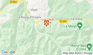 Mapa Les 2 Alpes Apartamento 1219