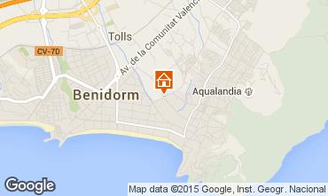 Mapa Benidorm Apartamento 60317
