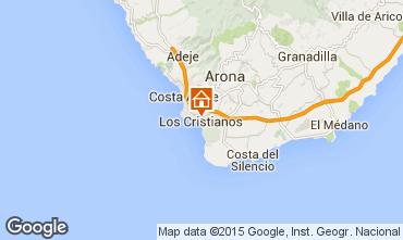 Mapa Los Cristianos Apartamento 88879