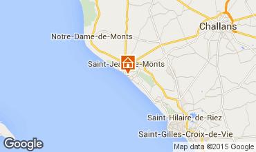 Mapa Saint Jean de Monts Apartamento 50925