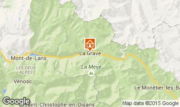 Mapa La Grave - La Meije Apartamento 33175