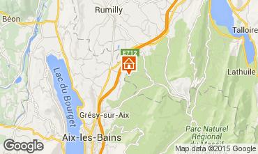 Mapa Annecy Casa rural 51624