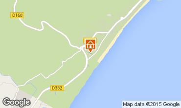 Mapa Narbonne plage Villa 82937