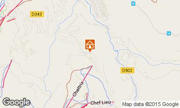Mapa Saint-Gervais-les-Bains Chalet 2571