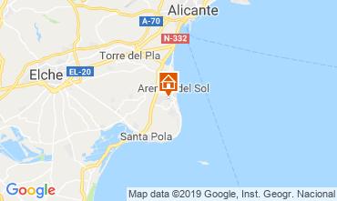 Mapa Alicante Apartamento 112598