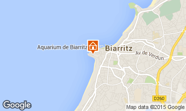 Mapa Biarritz Apartamento 69128