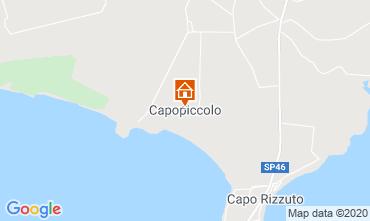 Mapa Isola di Capo Rizzuto Apartamento 72903