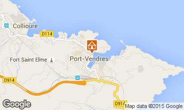 Mapa Port Vendres Apartamento 41483