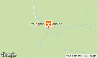 Mapa Pralognan la Vanoise Apartamento 44329