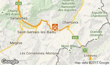 Mapa Les Houches Apartamento 101211