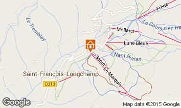Mapa Saint François Longchamp Apartamento 82057