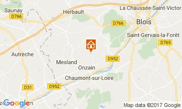 Mapa Onzain Mobil home 112565