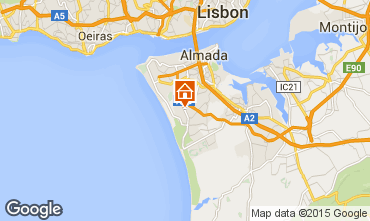 Mapa Lisboa Villa 55207