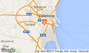 Mapa Valencia Apartamento 8181