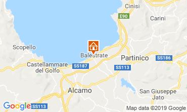 Mapa Balestrate Apartamento 53262