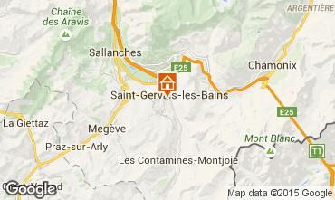 Mapa Saint Gervais Mont-Blanc Apartamento 75031