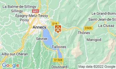 Mapa Annecy Apartamento 67836