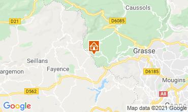 Mapa Grasse Villa 111723