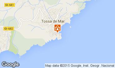 Mapa Tossa de Mar Apartamento 98198