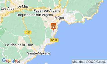 Mapa Les Menuires Chalet 73309