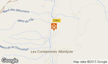 Mapa Les Contamines Montjoie Chalet 978