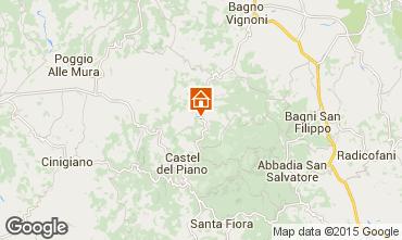 Mapa Montalcino Casa 14841