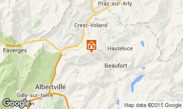 Mapa Les Saisies Apartamento 26237