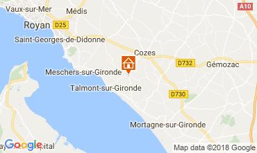 Mapa Saint Georges de Didonne Casa 114590