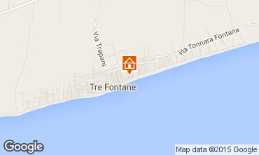 Mapa Tre Fontane Casa 49021