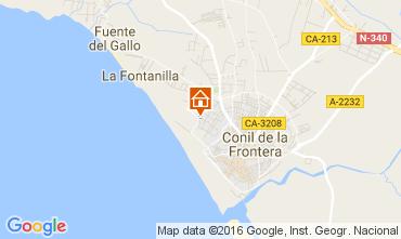 Mapa Conil de la Frontera Apartamento 103992