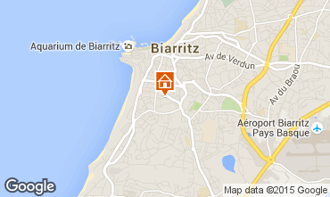 Mapa Biarritz Apartamento 79832