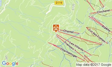 Mapa Les Arcs Estudio 107099