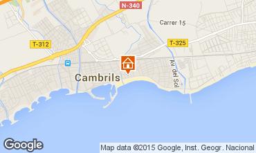 Mapa Cambrils Apartamento 69014