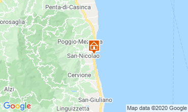 Mapa Moriani Plage Apartamento 75346