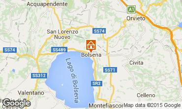 Mapa Bolsena Apartamento 99471