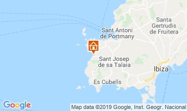 Mapa Cala Tarida Apartamento 118637