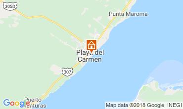Mapa Playa del Carmen Estudio 116454