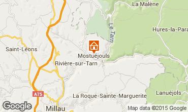 Mapa Millau Casa rural 78585