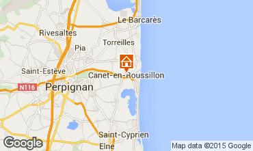 Mapa Canet-en-Roussillon Villa 94572