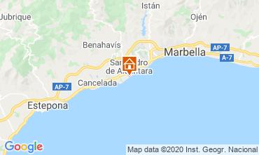 Mapa Marbella Villa 118906