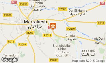 Mapa Marruecos Villa 83535