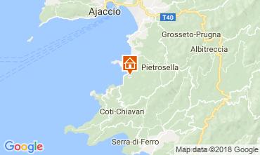 Mapa Porticcio Villa 114573