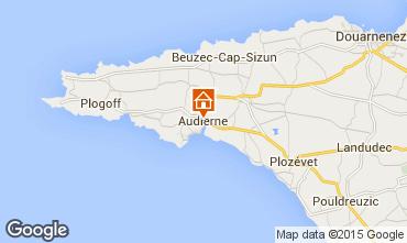 Mapa Audierne Apartamento 60237