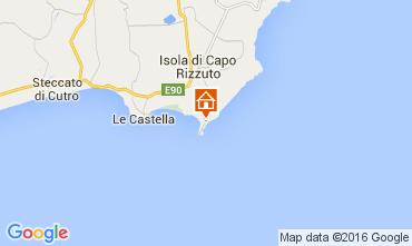 Mapa Isola di Capo Rizzuto Apartamento 81850