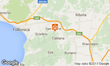 Mapa Gavorrano Villa 80762