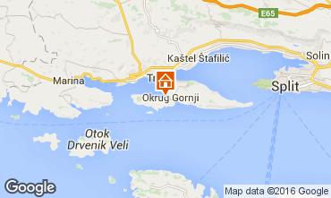 Mapa Trogir Villa 102884