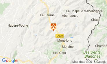 Mapa Saint Jean d'Aulps- La Grande Terche Apartamento 57386